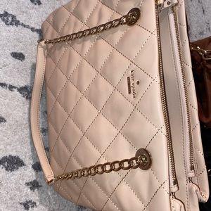 Kate spade Emerson place allis cashew leather bag